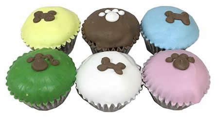 mini cupcakes for dogs