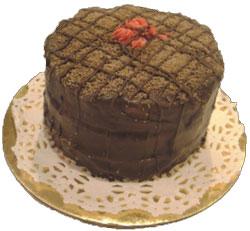 Carob Swirl Cake