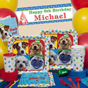 Birthday dog party supplies